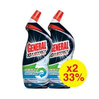 Der General Toilet Cleaner Liquid Protection Anti-Limes Crate 750ML X2 33% Off