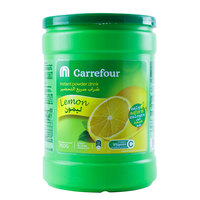 Carrefour Instant Powder Drink Lemon 750g