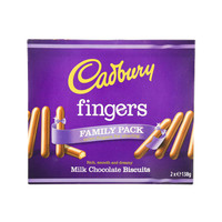 Cadbury Fingers Milk Chocolate Biscuits 138g x2