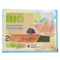 Carrefour Bio Organic Smoked Salmon 80g