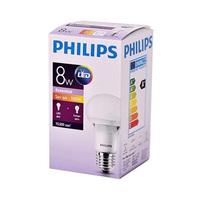 Philips Essential LED Bulb 8-50W E27  3000K 230V