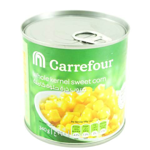 Carrefour-Whole-Kernel-Sweet-Corn-340g