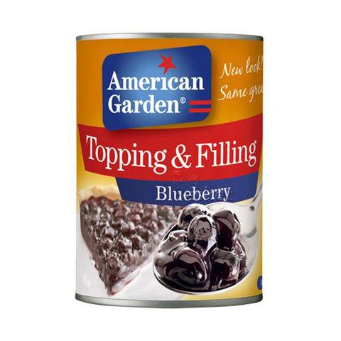 American-Garden-Topping-&-Filling-Blueberry-595g