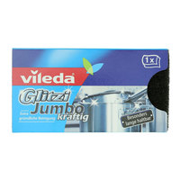 Vileda Glitzi Jumbo Sponge Scourer Dish Washing High Foam 1Pc
