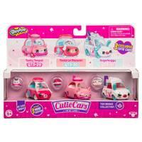 Shopkins Cutie Cars 3 Pack Series 3 Tea Brake