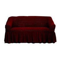 Tendance's Sofa Cover 2 Seater Burgundy