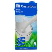 Carrefour UHT Milk Full Fat 1L