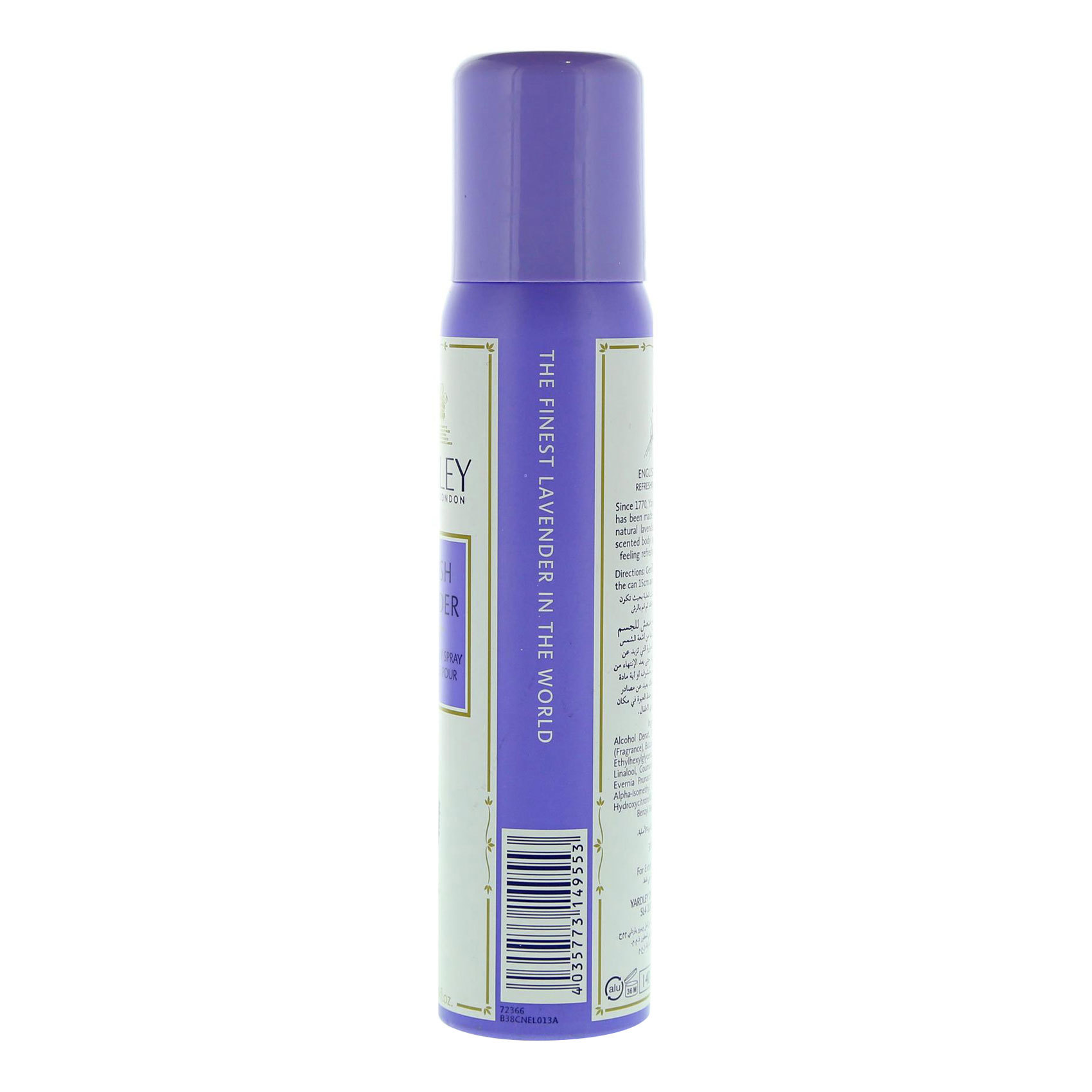 YARDLEY B/SPR LAVENDER 100ML
