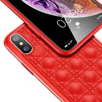 Totudesign Case iPhone XS Max Deo Red