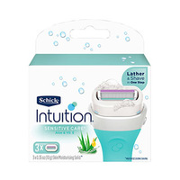 Schick Intuition Refill Sensitive Care Razor Blades Pack Of 3