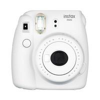 Fujifilm Instax Mini 9 Instant Camera Smokey White   + Film + Accordion Frame