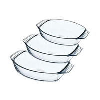 Pyrex Oval Dishes Set 3 Pieces