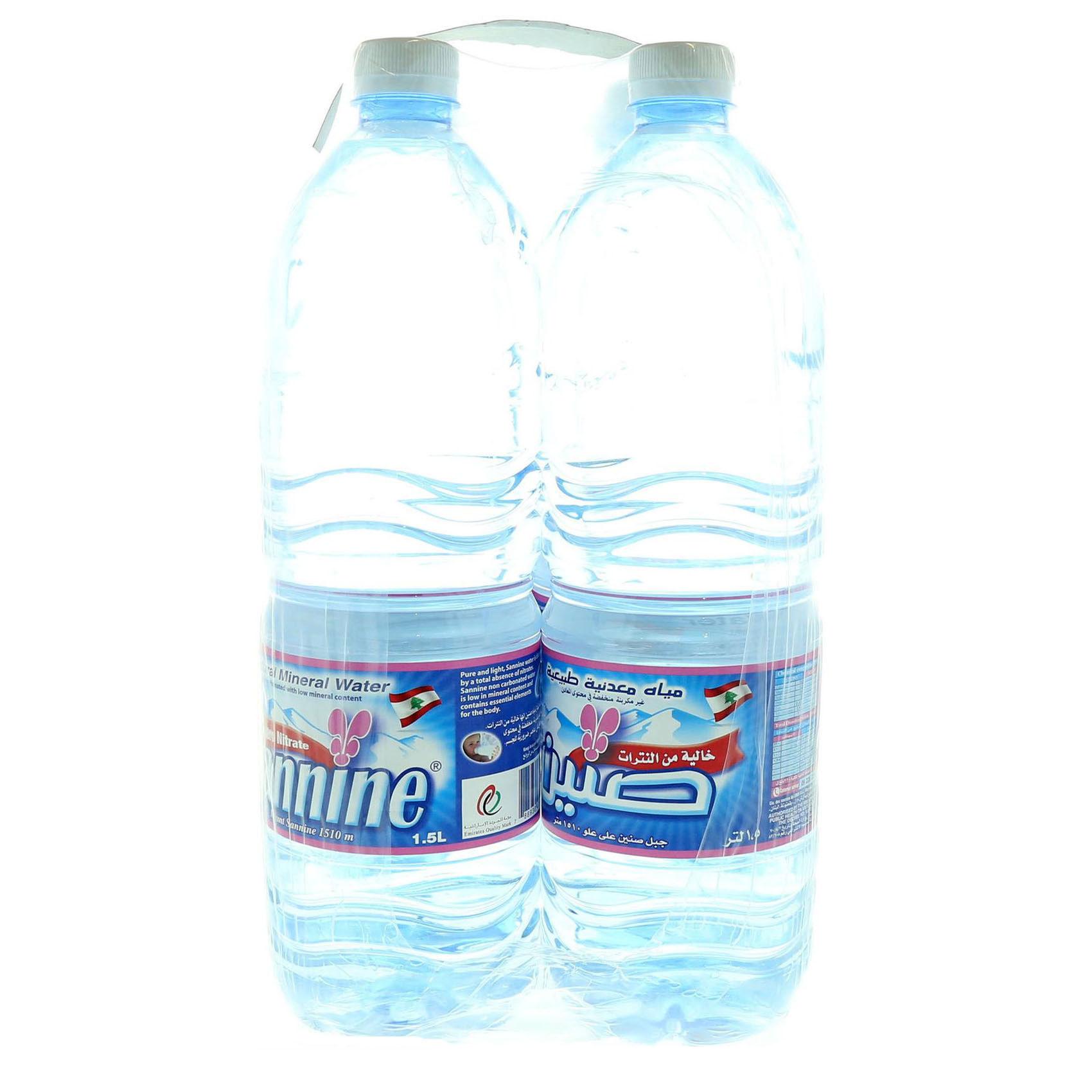 SANNINE MINERAL WATER 1.5LX6