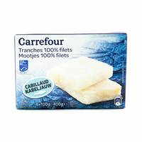 Carrefour Cod Filet Slices 4 x 100 g