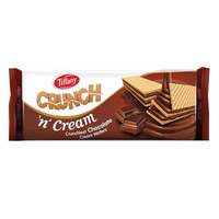 Tiffany Crunch 'N' Cream Crunishest Chocolate Cream Wafers 153g