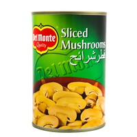Del Monte Sliced Mushrooms 400g