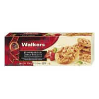 Walkers Strawberries & Cream Biscuits 150 g