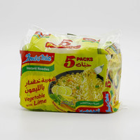 Indomie Noodles Vegetable with Lime 70 g x 5 Pieces