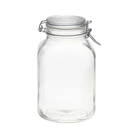 Bormioli Rocco Fido Glass Canister 3L