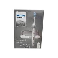 فرشاة أسنان كهربائية فيليبس فليكس كير للعناية الحساسة بلاتينيوم لون أبيض