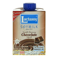Lactasoy UHT Soy Milk Chocolate 500ml
