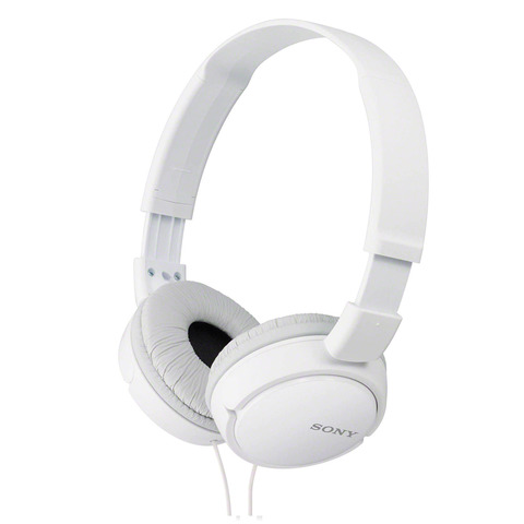 Sony-Headphone-MDR-ZX110AP-White