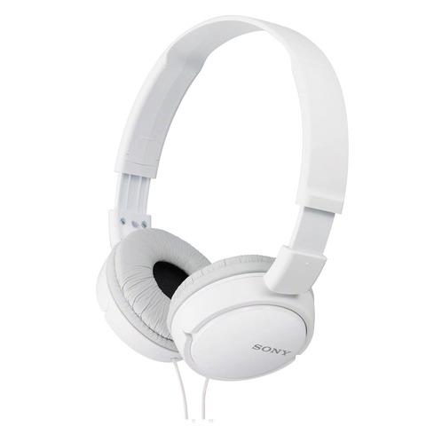 Sony-Headphone-MDR-ZX110AP-White