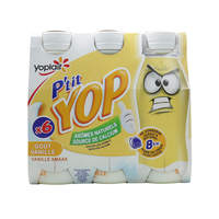 Yoplait P'Tit Yop Drink Yogurt  Vanilla 180g x6