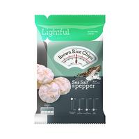 Lightful Brown Rice Chips Sea Salt & Pepper 60GR