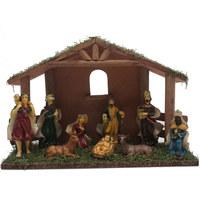 Christmas Nativity 30X10X20cm Multicolor Decoration