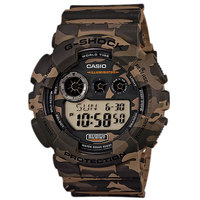 Casio G-Shock Camouflage Series Men's Analog/Digital Watch GD-120CM-5D