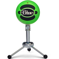 Blue Microphone Snowball Neon Green