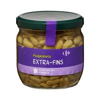 Carrefour Flageolets Beans Jar 370ML