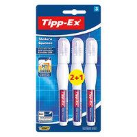 Bic Tipex Shae N Sueze Coeion Pen Blistr 2+1