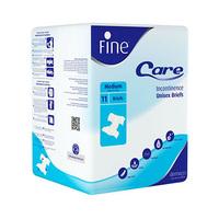 Fine Adult Care Dermapro Unisex Brief Medium 11 Sheets