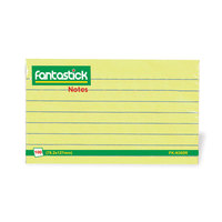 Fantastick Notes 3X5 Ruled