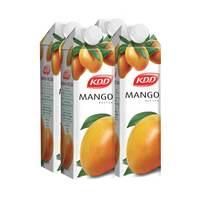 KDD mango nectar 1 L  × 4