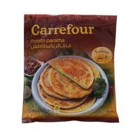 Carrefour potato paratha  400 g