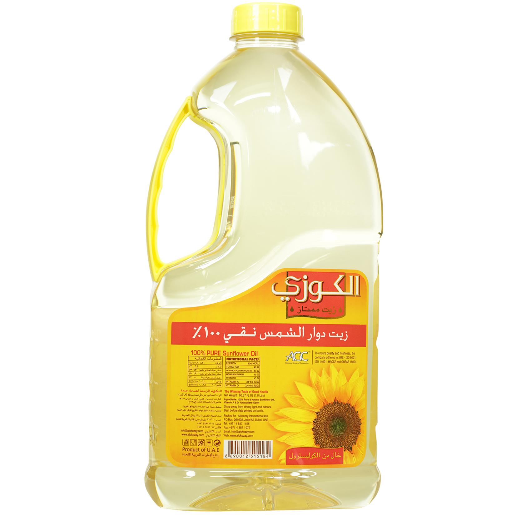 ALOKOZAY SUNFLOWER OIL 1.8L