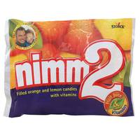 Storck Nimm2 Soft Filled Orange And Lemon Candies With Vitamins 116g