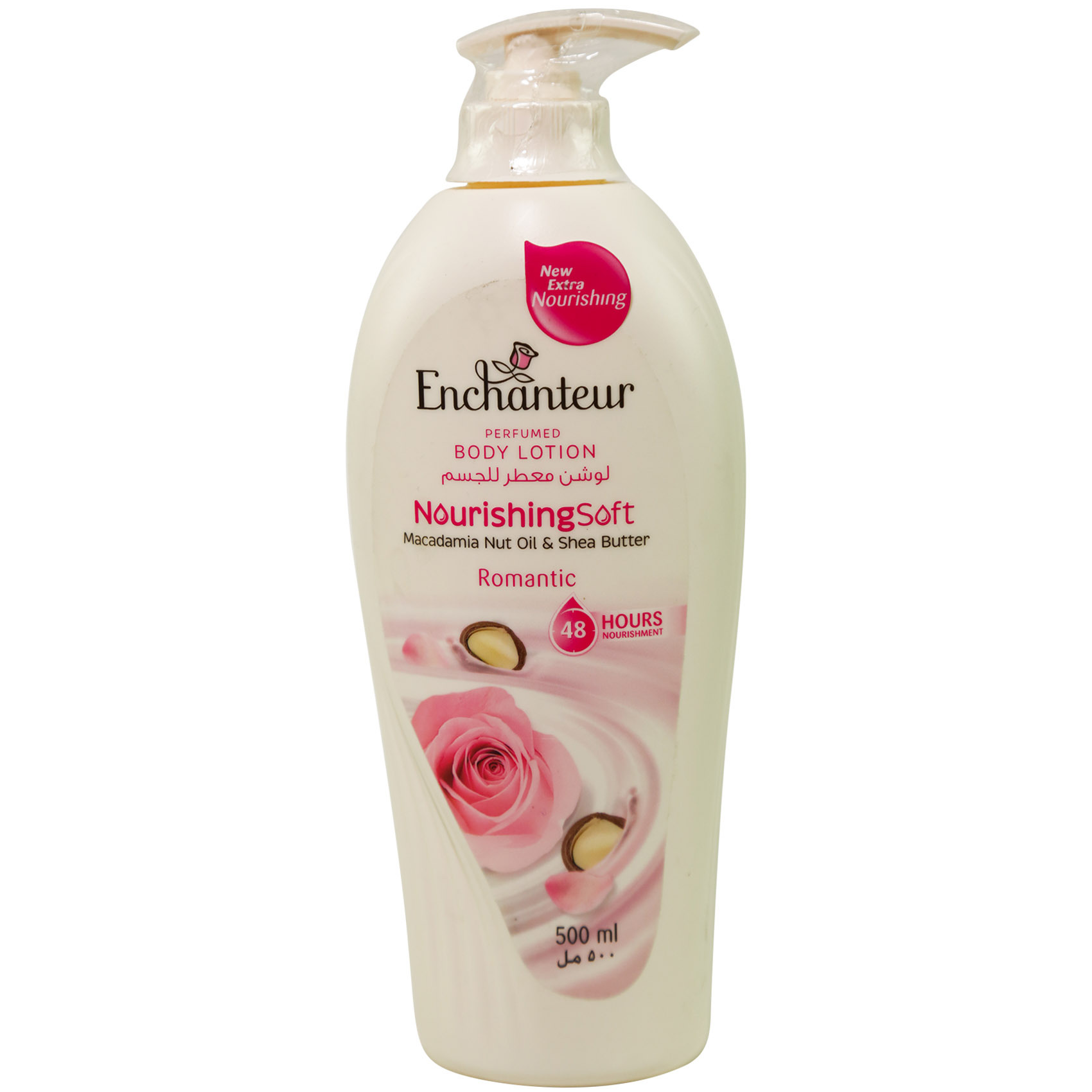 Buy Enchanteur Perfumed Body Lotion Nourishing Soft Romantic 500ml 1 Get White Garden Hand Ampamp Pink Rose 250ml Enchantuer Ns Ltn