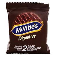 Mcvitie's Digestive Dark Chocolate Biscuits 33.3g