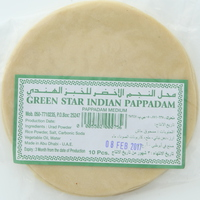 Green Star Indian Pappadam Medium 150g