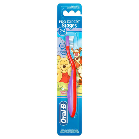 Oral-B-Stages-2-(2---4-years)-Manual-Kids-Toothbrush