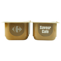 Carrefour Coffee Desert Cream 125g x 4