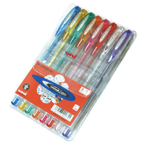 Uniball-Signo-Sparkling-8-Color