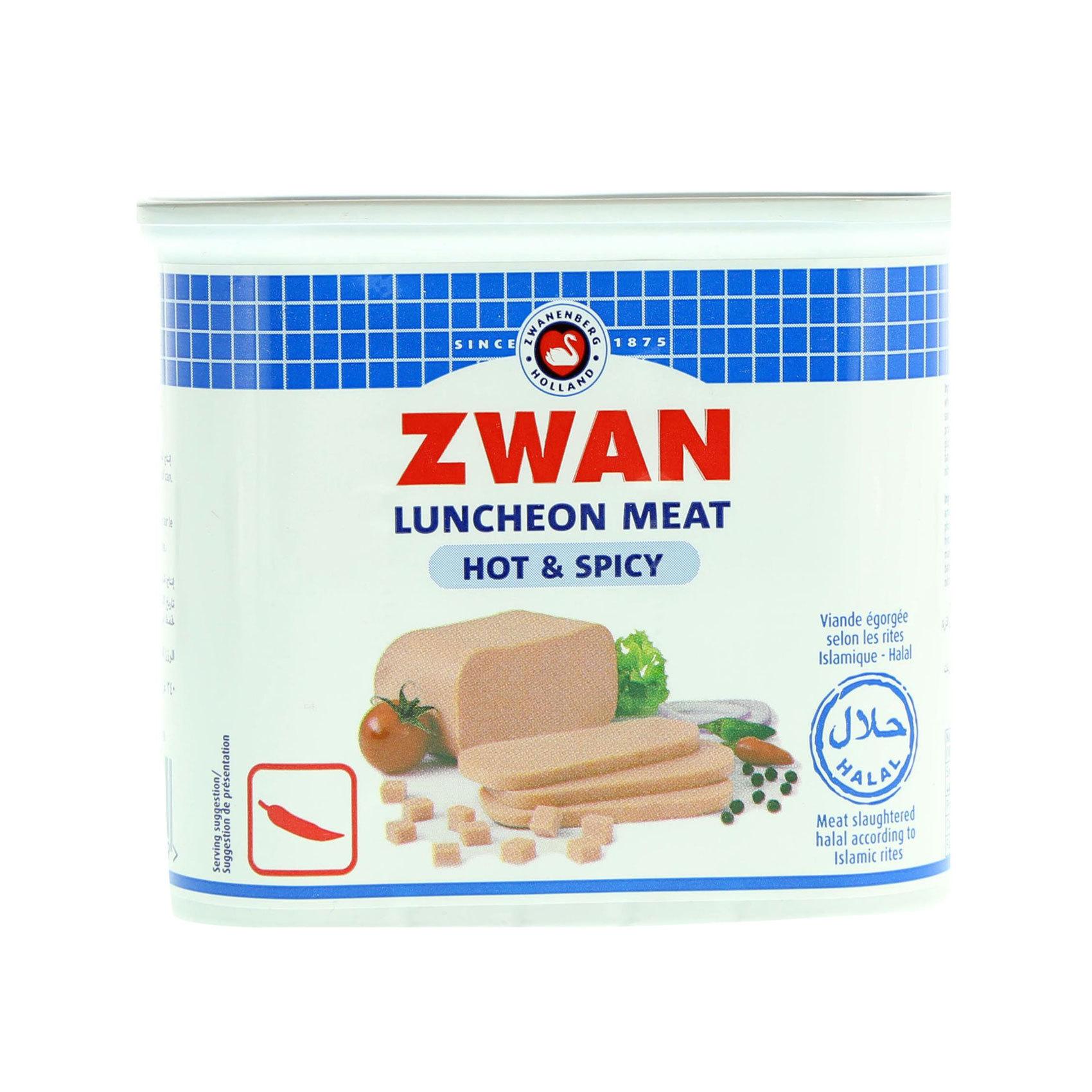 ZWAN LUNCHEON BEEF SPICY 340GR