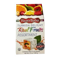Hazerbaba Real Fruits Assortment Turkish Delight 100g