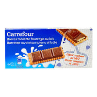 Carrefour Milk Filled Bar Biscuit 125g