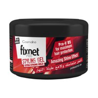 Fixnet Pro Gel Jar Xtra Strong Hold Red 250ML